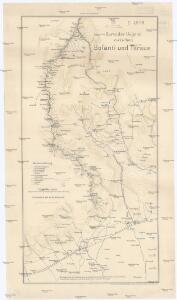 Karte der Gegend zwischen Bofanti und Tarsus