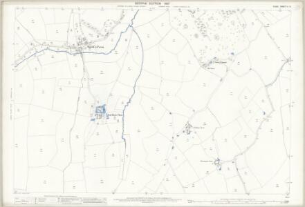 Essex (1st Ed/Rev 1862-96) X.3 (includes: Hempstead; Steeple Bumpstead) - 25 Inch Map