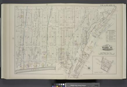 Vol. 6. Plate, S. [Map bound by Lee Ave., Flushing Ave., Classon Ave., Hewes St., Canal, Wilson St.; Including Bedford Ave., Wythe Ave., Kent Ave., Ross St., Rodney St., Keap St., Hooper St., Penn St., Rutledge St., Heyward St., Lynch St., Middleton St.,
