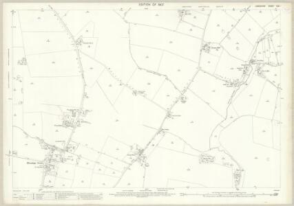 Lancashire CIX.1 (includes: Croft; Golborne; Newton Le Willows; Winwick) - 25 Inch Map