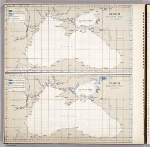 Ice Chart Black Sea, November, December.