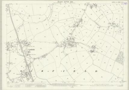 Suffolk LV.13 (includes: Cockfield) - 25 Inch Map
