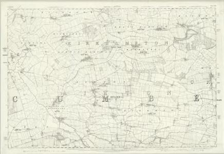 Cumberland XXII - OS Six-Inch Map