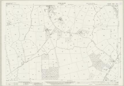 Somerset LXIV.2 (includes: Baltonsborough; East Pennard; Lovington; Lydford; West Bradley) - 25 Inch Map