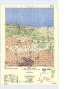 Cyprus 1:50,000, Nicossia North
