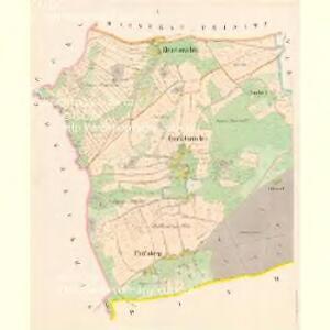Gross Gorschin - c8449-1-001 - Kaiserpflichtexemplar der Landkarten des stabilen Katasters