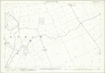 Middlesex X.13 (includes: Ruislip; Uxbridge) - 25 Inch Map