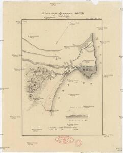 Plan osady krěposti Anapy v 1828 gódu