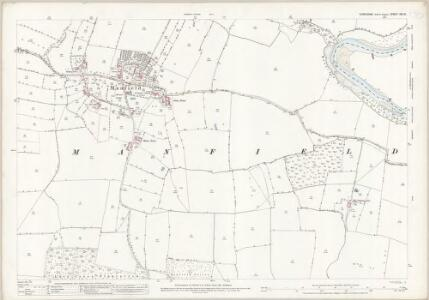 Yorkshire XIV.15 (includes: Aldbrough; Low Coniscliffe; Manfield) - 25 Inch Map
