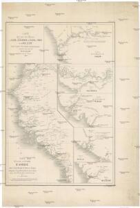 Carte du cours des rivieres de Salum, de Cazamance, de Cassini, de Pongo et de Mallecory