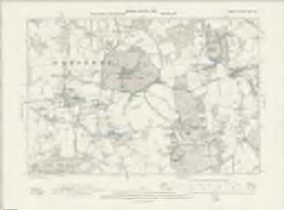 Surrey XXVII.SE - OS Six-Inch Map