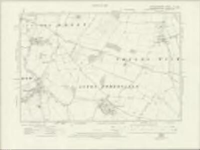 Gloucestershire VI.SE - OS Six-Inch Map