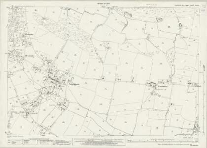 Hampshire and Isle of Wight XCVII.3 (includes: Brixton; Shorwell) - 25 Inch Map