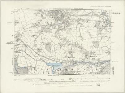 Yorkshire CCLXXIV.SW - OS Six-Inch Map