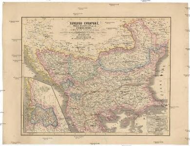 Turecko evropské, Srbsko, Multany a Valachie, Černá Hora a pohraničné země rakouské