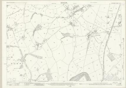 Shropshire XII.10 (includes: Oswestry Urban; Selattyn; Whittington) - 25 Inch Map