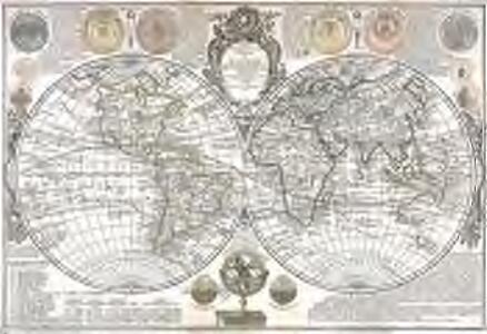 Carte générale de la terre ou mappemonde
