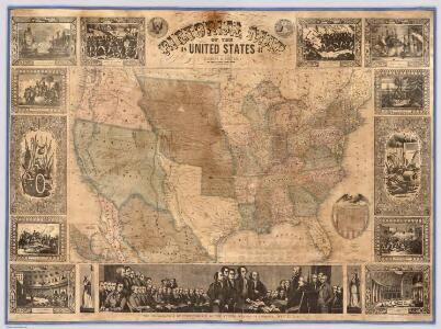 Pictorial Map Of The United States.
