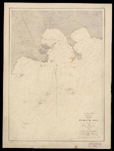 Plano del Puerto de Ibiza. Levantado en 1895 por la Comisión Hidrográfica de la Península