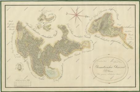 Přehledná mapa polesí Ledenice 1
