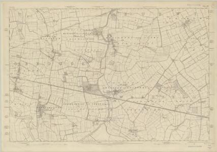 Yorkshire 222 - OS Six-Inch Map