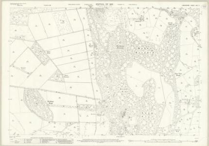 Lancashire XVII.2 (includes: Lower Allithwaite; Lower Holker) - 25 Inch Map