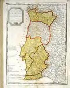 Mapa del reyno de Portugal