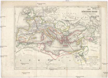 Das Römische Reich unter Traianus