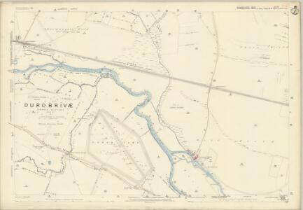 Huntingdonshire II.13 (includes: Ailsworth; Alwalton; Castor; Chesterton; Water Newton) - 25 Inch Map