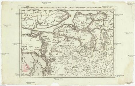 Carte particuliere des environs de Willemstadt, Steenbergen, et Berg-op-zoom