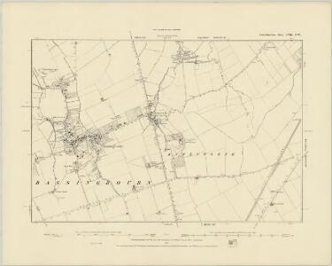 Cambridgeshire LVIII.SE - OS Six-Inch Map