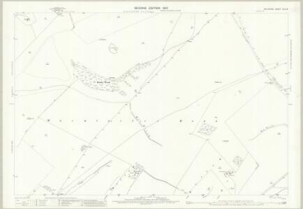 Wiltshire XLV.13 (includes: Bratton; Upton Scudamore; Warminster) - 25 Inch Map
