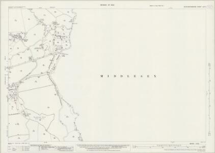 Buckinghamshire LIV.9 (includes: Denham; Iver; Uxbridge) - 25 Inch Map