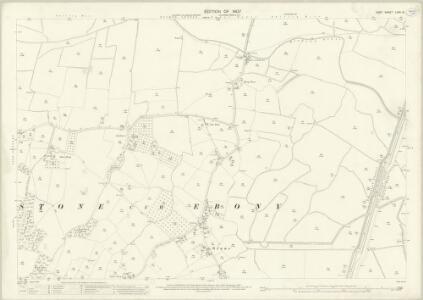 Kent LXXX.10 (includes: Appledore; Stone cum Ebony) - 25 Inch Map