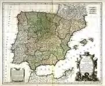 Mapa general de España