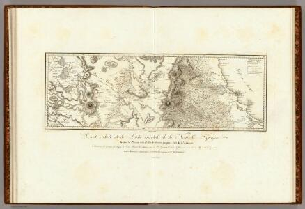 Plateau de la Ville de Mexico jusqu'au Port de la Veracruz.