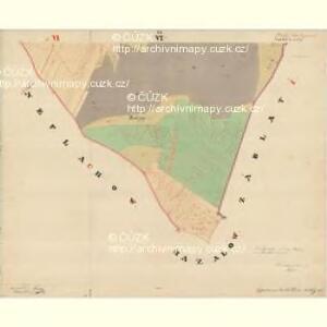 Dinin - c1639-1-010 - Kaiserpflichtexemplar der Landkarten des stabilen Katasters