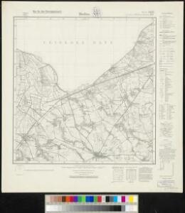 Meßtischblatt 278, neue Nr. 1486 : Bladiau, 1937
