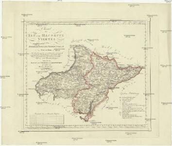 Charte der Inn und Hausruck Viertel in dem Erzherzogthume Niederöstreich uiber der Enns