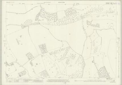 Wiltshire XXXVII.16 (includes: Buttermere; Combe; Ham; Inkpen) - 25 Inch Map