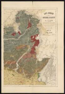 Carta geologica delle provinicie Lombarde