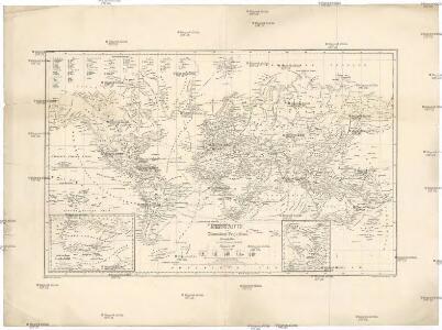 Erdkarte in Mercators Projection