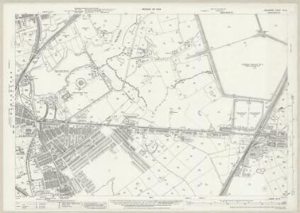 Lancashire CV.13 (includes: Audenshaw; Denton; Manchester; Stockport) - 25 Inch Map