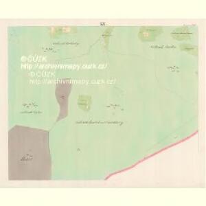Lomna (Lomno) - m0508-1-019 - Kaiserpflichtexemplar der Landkarten des stabilen Katasters