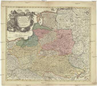 Regni Poloniae Magniquae Ducatus Lithuaniae Nova et exacta tabula