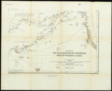 [Map of the Nyassa expedition by Governor Oberst Freiherr von Schele:] Nyassa Expedition IV