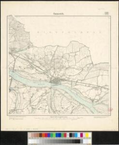 Meßtischblatt 2206/2278 : Emmerich, 1896