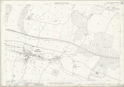 Buckinghamshire XLII.4 (includes: Amersham; Little Missenden) - 25 Inch Map