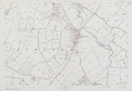 Somerset LXXXIII.6 (includes: Chilton Cantelo; Mudford; Trent) - 25 Inch Map