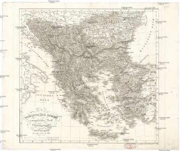 Des Osmanischen Reichs europäischer Theil, Griechenland und die Jonischen Inseln